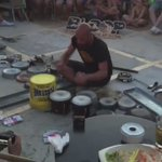 Watch this guy play Techno with just pots, pans, and buckets. This is talent https://t.co/gZ7HWB2OKE