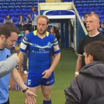 Coin toss done. Wolves to play towards the west stand in the first half #ChallengeCup https://t.co/9pmqmVyTPN
