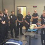 Supt @StephenCalkins talking about the AutoPulse with the new @ottawaparamedic recruit class. https://t.co/PYHjTvRaTs