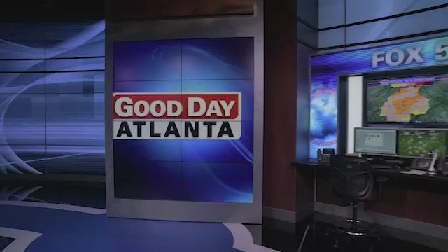 Weekend weather with @JoanneFOX5 and @BuckFOX5 . Wait for it. He busts the snake. @FOX5Atlanta https://t.co/goEbxzq4Sc