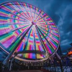 Heres a timelapse of the #rainbow lightshow on @Pier57Wheel last night. #Pride2016 #SeattlePride @OurSeattlePride https://t.co/Tdt9So2wrl