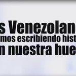 Los venezolanos hoy escribimos con nuestra huella otro capítulo más de nuestra historia #BatallaDeLasHuellas https://t.co/egVvcRerVJ