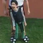 Engelli çocuğunu sevindirmek için, düzenek kuran BABA gibi BABA. https://t.co/JSOIy4eMBG