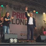 We are London, and we are proud. Incredible atmosphere here at #Pride2016 #LoveWins #NoFilter https://t.co/4hrMaMEdYq