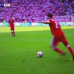 Now THATS how you equalise. Shaqiri with the overhead #SWIPOL https://t.co/1ped5Zuzpj