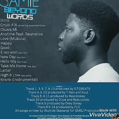 Hi fam, Beyond Words album by GAMiE is available on all music stores. Go get yours. Thanks for the support. https://t.co/qvEZGDFeus