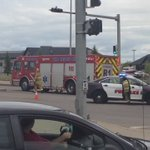 Unknown injuries in a 2 vehicle collision at University Dr/Heritage Blvd W. NB traffic on University is closed. #YQL https://t.co/xhzrfvVLxi
