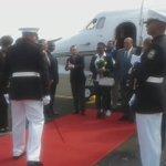 Guardia Honor Presidencial engalana la llegada de la Primera Dama de Haiti Ginette Privert #CanalAmpliado https://t.co/2spZgkAnh9