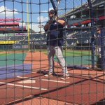 Former THS star AJ Reed taking BP before his MLB debut tonight for the Astros in KC! https://t.co/dF5eaypjDu