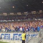 Nenhum segundo parada! Torcida do @Cruzeiro não para! #CRUxPAL https://t.co/AskRieMZWy