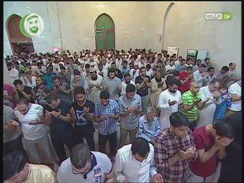 دعاء الشيخ #مشاري_العفاسي للمسجد الأقصى في #دبي #فلسطين