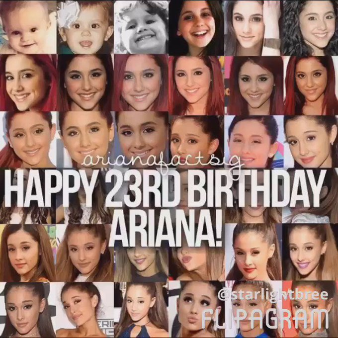 Happy birthday ARIANA GRANDE BUTERA , i love you & keep being the best in my eyes moonlight princess