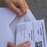 Ejerciendo mi derecho #fiestadelademocracia #Elecciones26J #VotaPP https://t.co/3PAt6KZVJ8