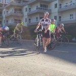 The bike mount:  Lots of clicking, cursing and near collisions.  #imcda703 https://t.co/gGNVz6VUyU
