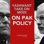 BJP leader Yashwant Sinha calls himself brain-dead. Slams Foreign Policy of Globe Trotting modi ji… ???????? https://t.co/fNWOQjufgM