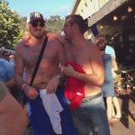 Tyson Fury loving it in #Nice #eng #EURO2016 https://t.co/8Q5J6YZLzA