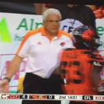 Favourite part of Game Day (besides winning😉) caught on @CFLonTSN🏈💜🐾. #tradition #nofear  @BCLions @CFL https://t.co/0V9dSziV8M