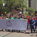 Massive Apple contingent at #SFPride parade, thousands marching in this group https://t.co/roTMWTqbtD