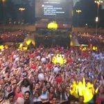 Roma ❤️  Non cantava nessuno! #VorreiMaNonPosto #CocaColaSummerFestival https://t.co/2KeDy8KHri
