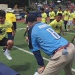 Incredible energy at #Michigan #PacificSwarmTour in Honolulu w/ @CoachJim4UM #Wolverines https://t.co/h5fsYmSPQT