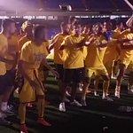 Los jugadores del Cádiz celebran el ascenso en el césped del Rico Pérez con la afición @partidodelas12 @tjcope https://t.co/unKy9XoPUp