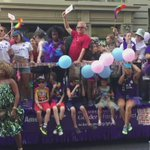 Our GFP #prideisforkidstoo float! #NYCPride #NYCPride2016 #acceptanceisprotectoon https://t.co/i9fPjVAYGx