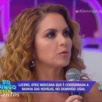 @LuceroMexico Nós também te amamos rainha!! Muitoooo!! 1 DIA PARA LUCERO NO BRASIL https://t.co/Clr3XuLmYI