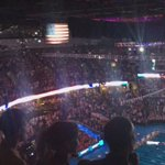 Amazing experience at #SwimTrials16 #RoadToRio - the singers audio dropped during the national anthem; listen 🇺🇸 https://t.co/4JRFXYPbzx