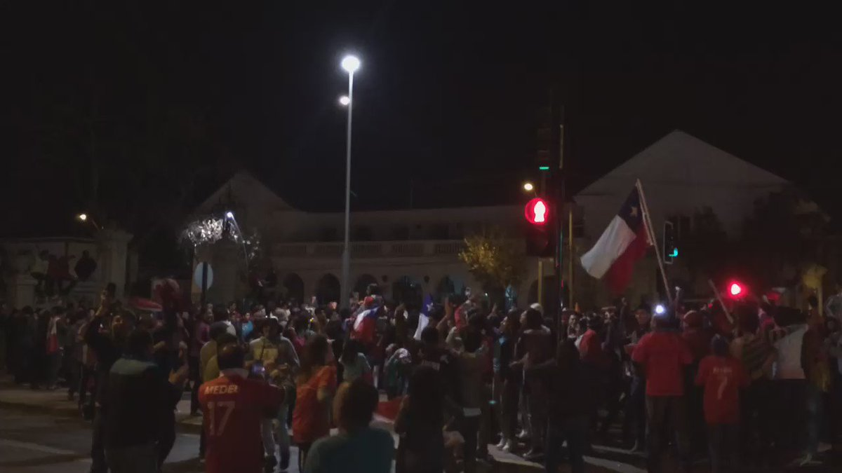 Se armó la fiesta en @LaSerenaOnline #ChileCampeon https://t.co/Tw4TfBiFy3