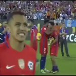 Congrats @Alexis_Sanchez ????????#CopaAmerica Golden Ball award https://t.co/WLHL5khvpJ