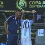 Lionel Messi was visibly distraught after defeat to Chile in #CopaAmerica final https://t.co/o0aowrLtlP