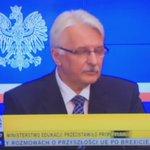 Szef MSZ odpowiada dziennikarzowi TVN, który pyta o słabą pozycje Polski w UE. Hehehehe😉 https://t.co/qAXIZ9nBiG
