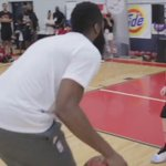 At least we know James Harden can play defense against someone... (Via @saeyae1) https://t.co/DktKvRRPTY
