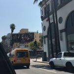 On a billboard in LA. So crazy 😂 https://t.co/vbSbjlfWUE