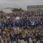 #Iceland following the game #Isl v #eng in #Reykjavik, #Iceland 2 - #England 1. #cnnireport @england #euro2016 rt https://t.co/RMNc0TV6sG