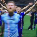 Iceland celebration !!! What a moment in @UEFAEURO . Anything possible! https://t.co/EuFCoxV8Ww