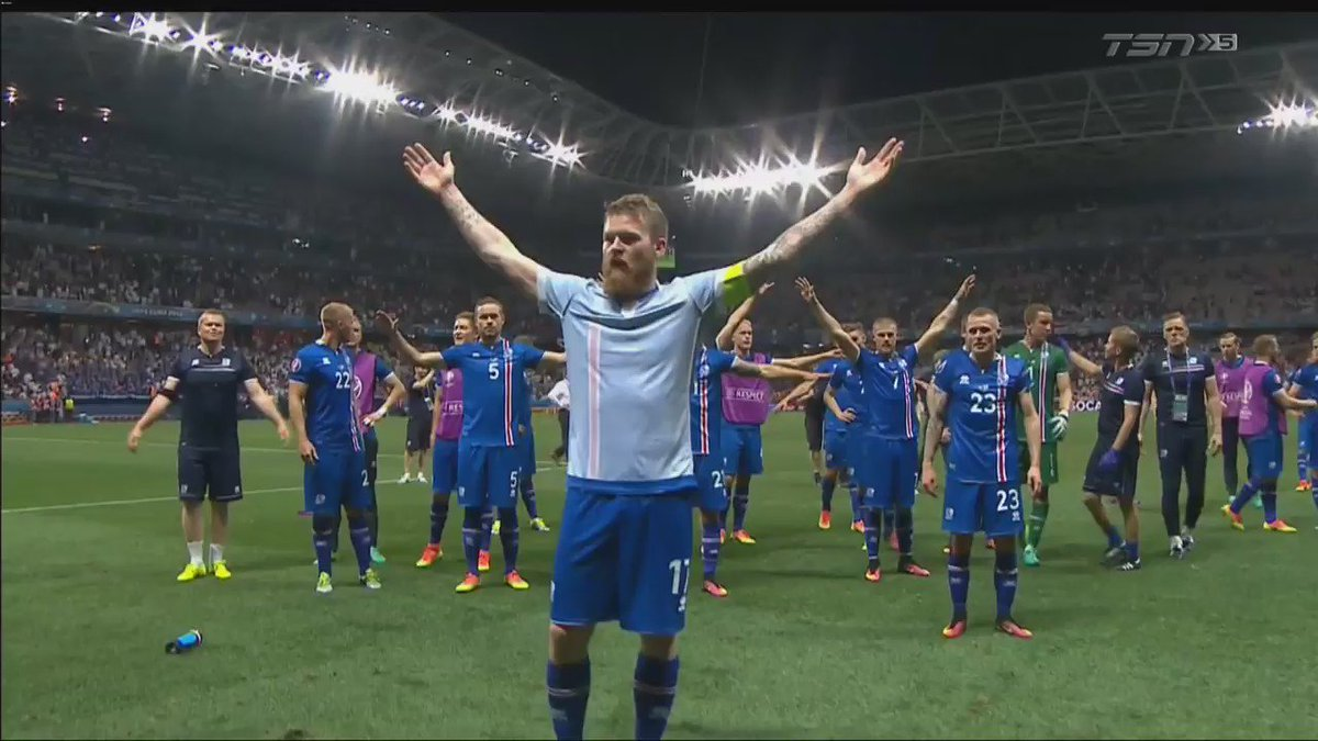 KING IN THE NORTH #ISL https://t.co/q38ky45aL5