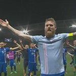 İzlandanın çeyrek final coşkusu #ISL https://t.co/c8ZawXgoLw