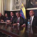 Ayer en rueda de prensa sobre visita a OEA y bienvenida que nos dieron funcionarios civiles y militares régimen. https://t.co/xbgBqYup9W