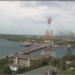 Update: MacKay bridge currently closed due to vehicle fire. (Via our partners at @nswebcams) https://t.co/Mbs6hgQCV9