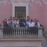 (Pregón RT @inforadiorubi @antoniorozco al balcó de l@AjRubi Pregó #FMRubi #rubicity #infolocal https://t.co/xgQ3SCZRSW