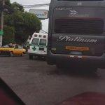 @radio102nueve choque en La Manuel Henríque Araujo, Los Santos.@alertux @traficosv https://t.co/8GhVLkl6Pp