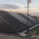 Arena Botafogo já com a marcação do campo! ⚫️⚪️ #ArenaBotafogo https://t.co/b7Toxll8dx