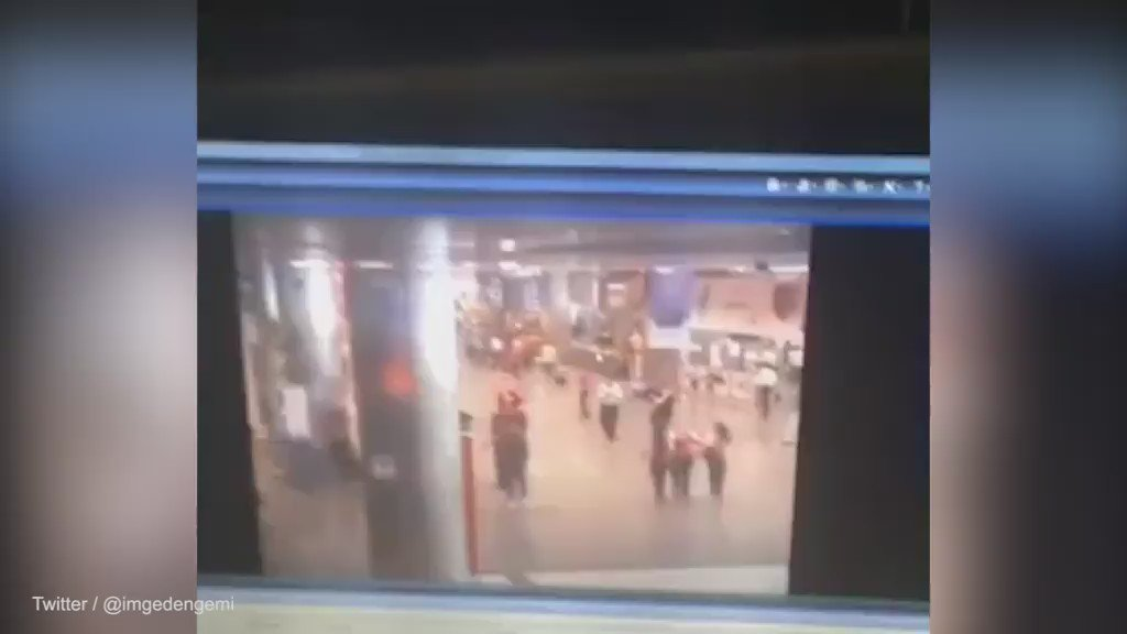 CCTV footage appears to show moment bomb goes off at Istanbul airport https://t.co/PudONKvbHP https://t.co/fGtdHD7E6x