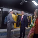 "PM Turnbull at Hurstville meets a commuter ""why should we believe anything you say"" @murpharoo poolvid-@mearesy https://t.co/W99HKz4otD"