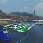 7月1日開催! 今年の夏はハウステンボス👀   日本最大級180mの海上ウォーターアトラクションも登場🐬  #行ってみたい人はRT  https://t.co/HzAWB2vzvx