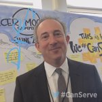 Heres @davidagus from @cbsthismorning telling us how he #CanServe live from the Cancer Moonshot Summit! https://t.co/Xe1tnsRtdW