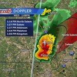 Feisty thundershower on east side of Nashua, heading into Salem, NH. Lightning detected. #WCVB https://t.co/JE2AYHt0ZO