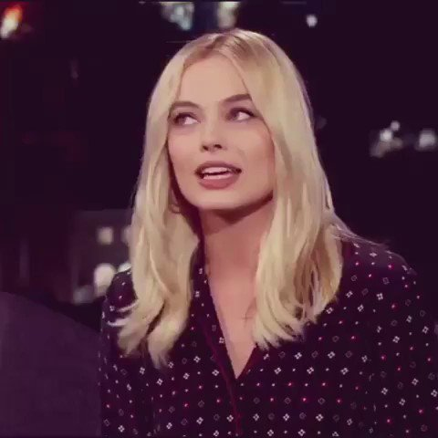 One of our absolutely favourite guests @MargotRobbie mentioning us on @JimmyKimmelLive
