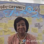 Heres @EdithMitchellMD telling us how she #CanServe live from the Cancer Moonshot Summit! https://t.co/H3ZpjjXVpm